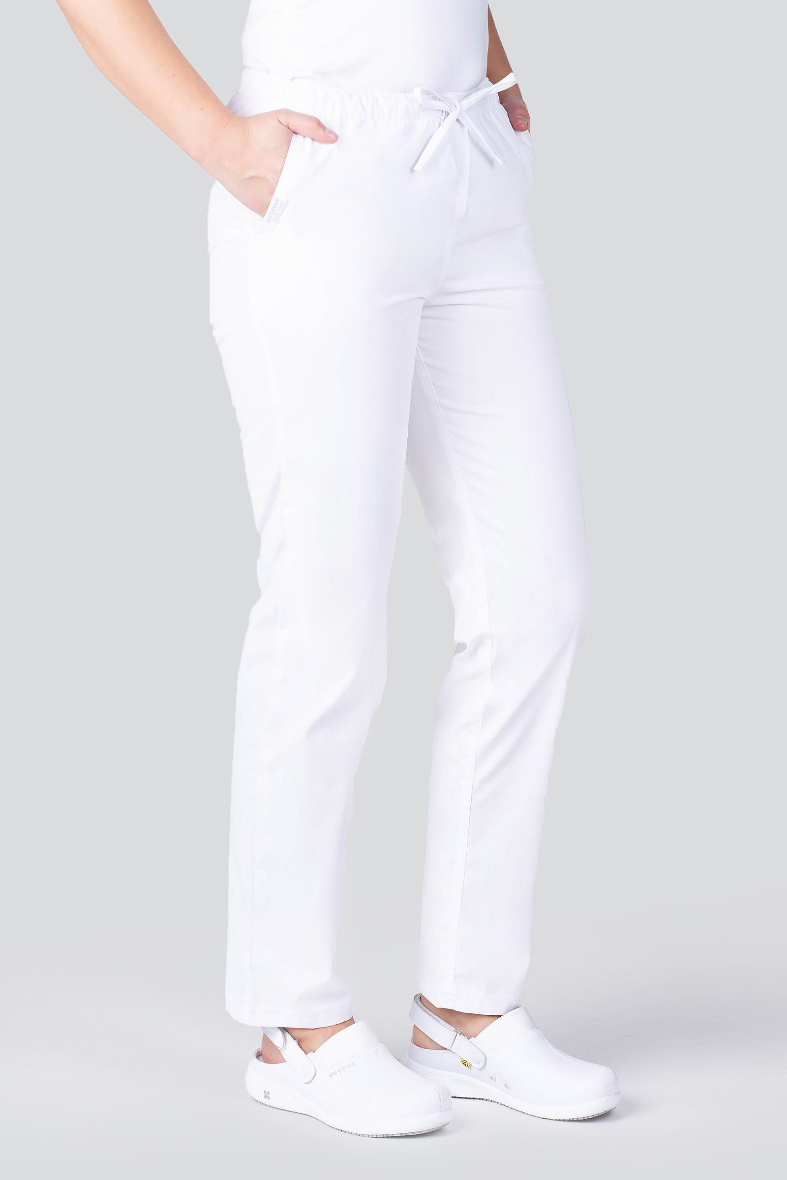 Medizinische Unisex Hose Uniformix Club Weiss Cm119 Weiss Medizinische Bekleidung Damen Bekleidung Medizinische Hosen Und Rocke Medizinische Bekleidung Herren Bekleidung Hosen Medizinkleidung Online Shop Uniformix
