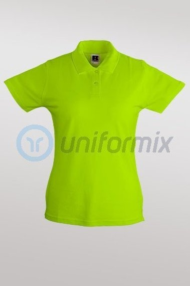 Damen Polo-Shirt, Lemon, R50200